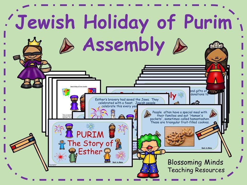 Jewish Holiday of Purim Assembly in 2020 Purim, Jewish