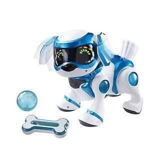 Tekno Robotic Puppy With Bone And Ball Toy Puppies Dog Toys