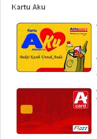 Kartu Aku Alfamart A Card From Flazz Gambar