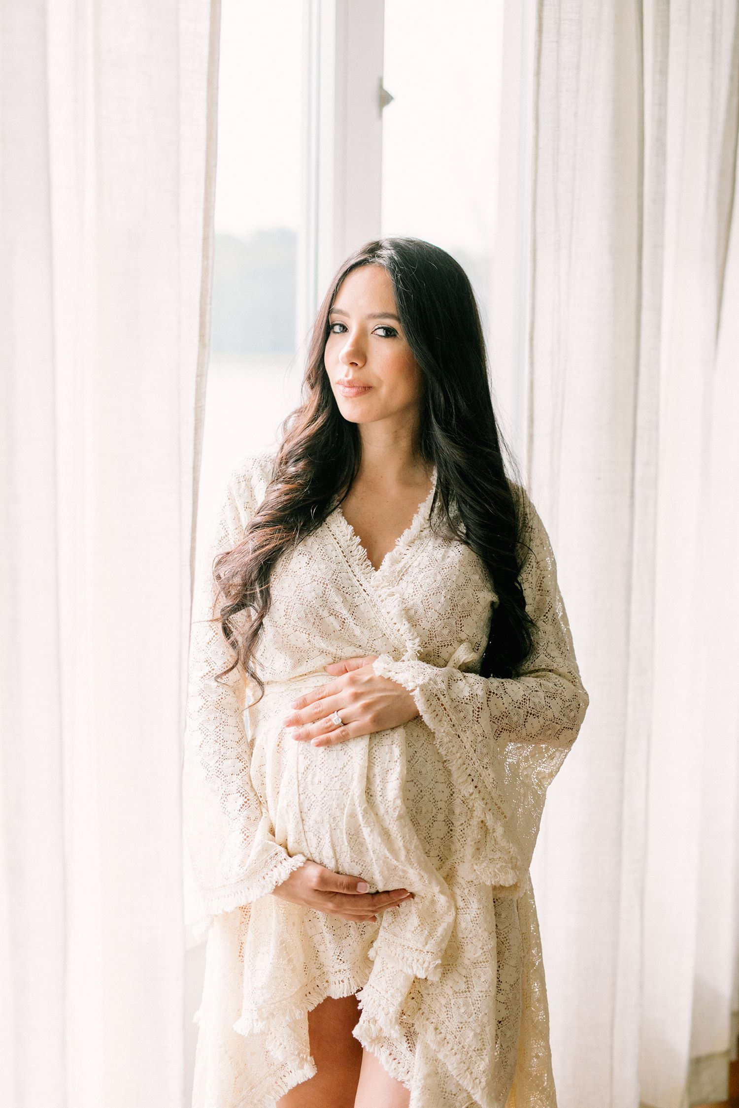 Mutterschaftssitzung zu Hause | Connecticut Fotografin – Stephanie Sunderland   – Maternity