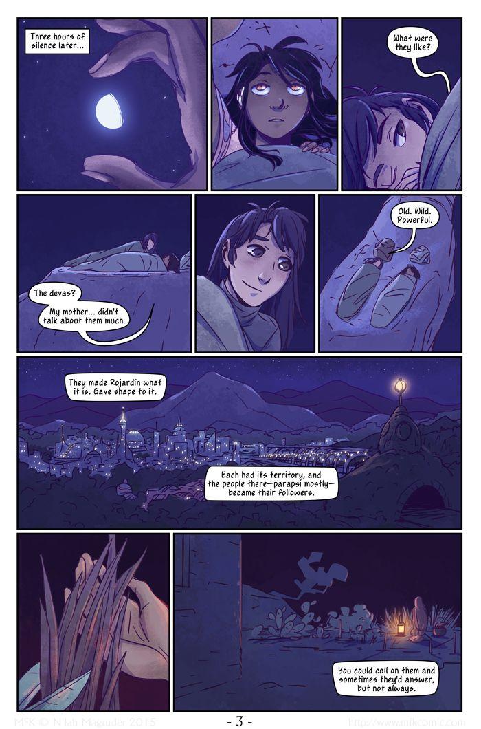 M.F.K. by Nilah Magruder Chapter 4 Page 3 http://www.nilahmagruder.com http://nilaffle.deviantart.com http://nilaffle.tumblr.com http://www.mfkcomic.com https://vimeo.com/user3881037 https://twitter.com/nilaffle/ n.magruder@gmail.com