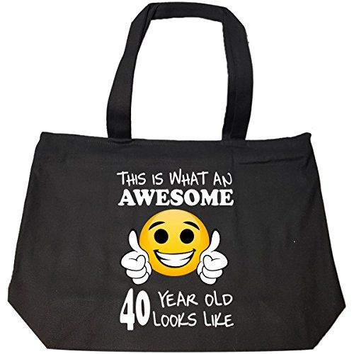BADASS REPUBLIC Emoji Birthday 40th Presents Men 40 Year Old Gift