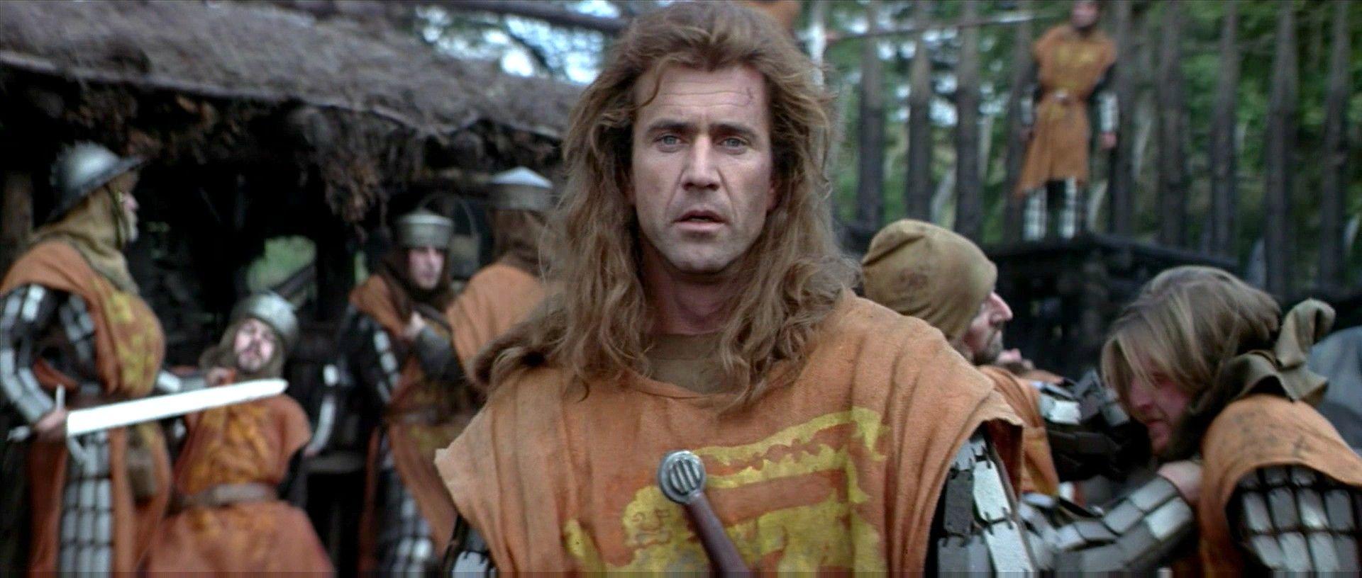 Mel Gibson Braveheart 1995 Movie Still Braveheart