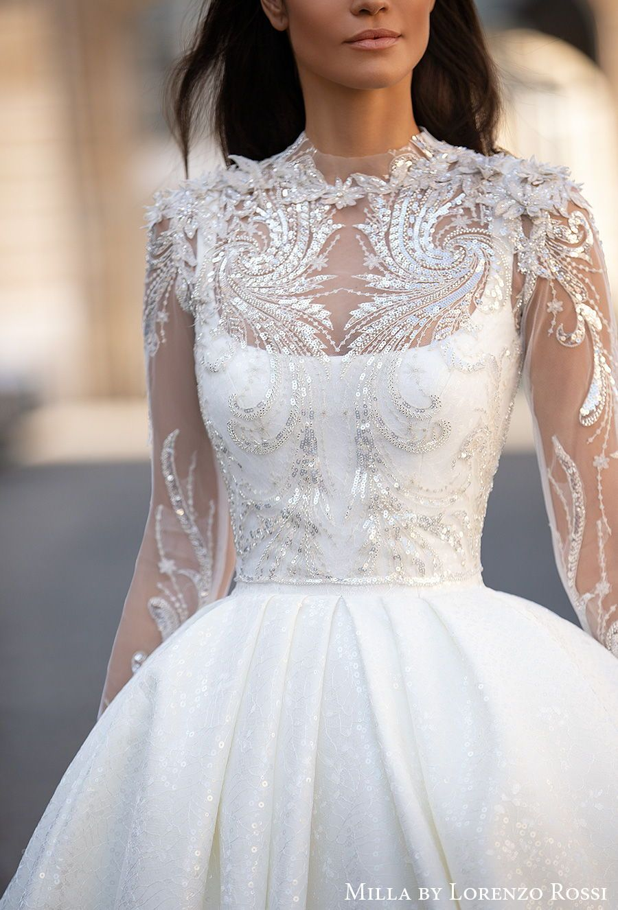 Milla By Lorenzo Rossi Wedding Dresses For Every Bride 2020 2021 Paris Bridal Collection Wedding Inspirasi Wedding Dresses Wedding Dresses Unique Wedding Dresses Vintage [ 1326 x 900 Pixel ]
