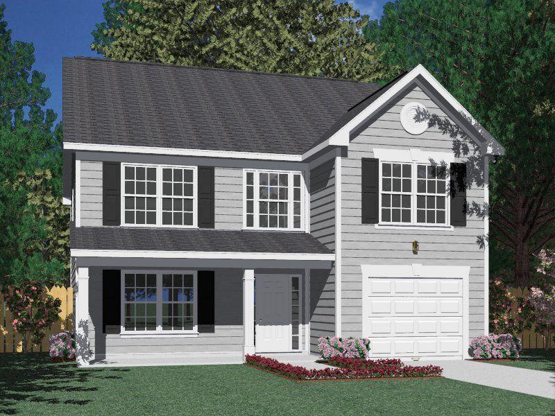 """House Plan 2310A Kennsington """"A"""" 2310 Square Feet 34'0"""