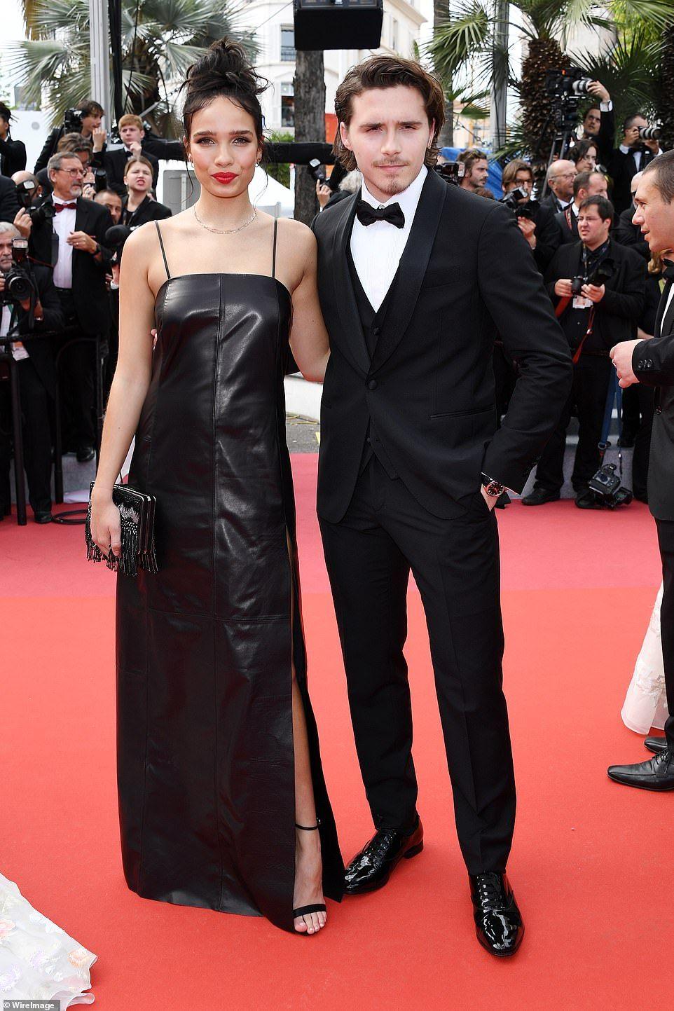 Brooklyn Beckham S Girlfriend Hanna Cross Dazzles At Premiere Cannes Brooklyn Beckham Girlfriend Brooklyn Beckham Red Carpet Dresses Best