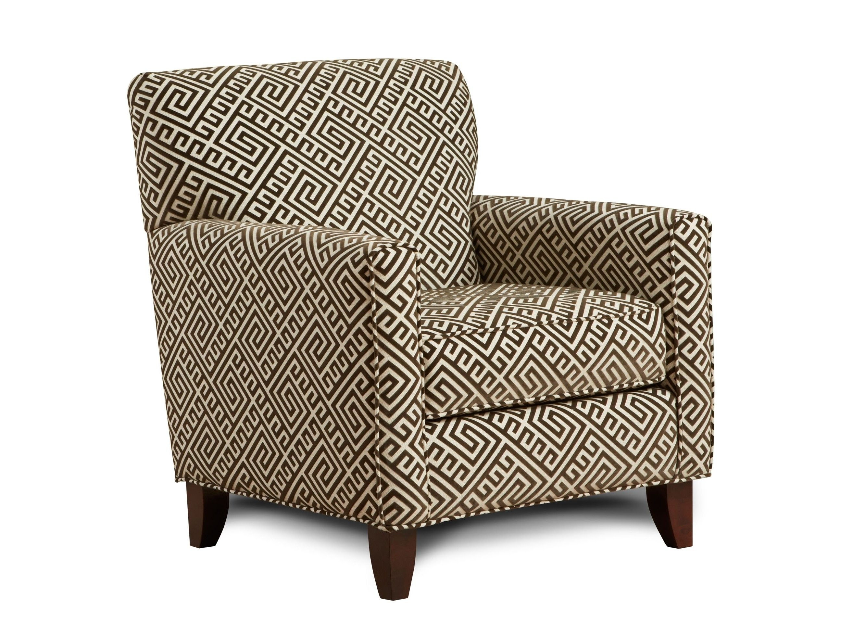 Devon Accent Chair By Chelsea Home Furniture In Kirkland Mocha