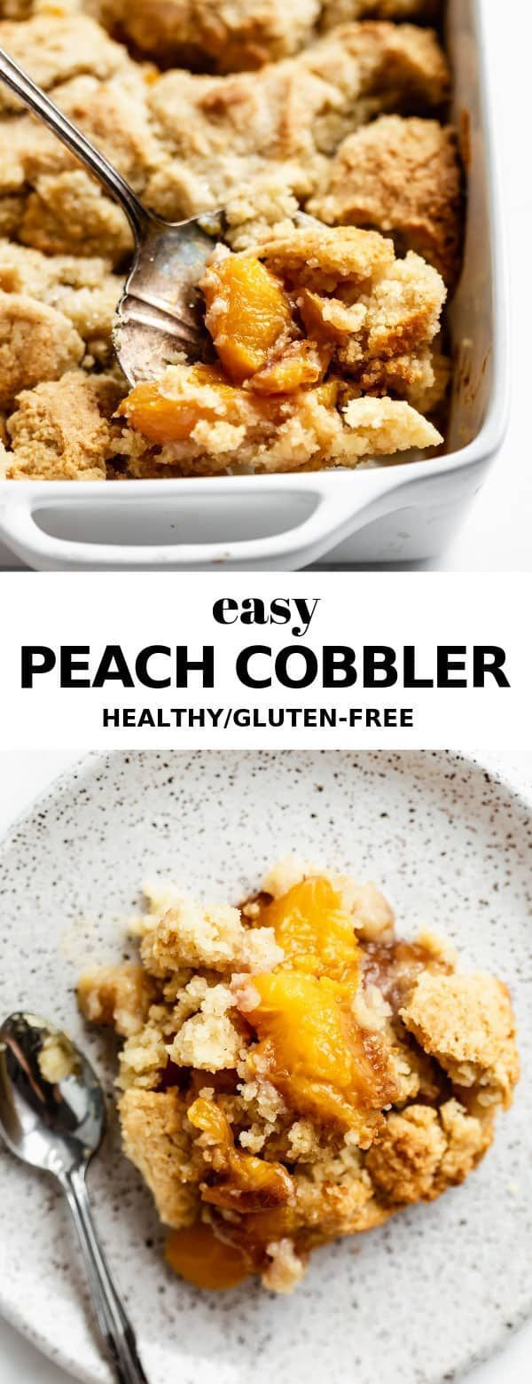 Gluten-Free Peach Cobbler