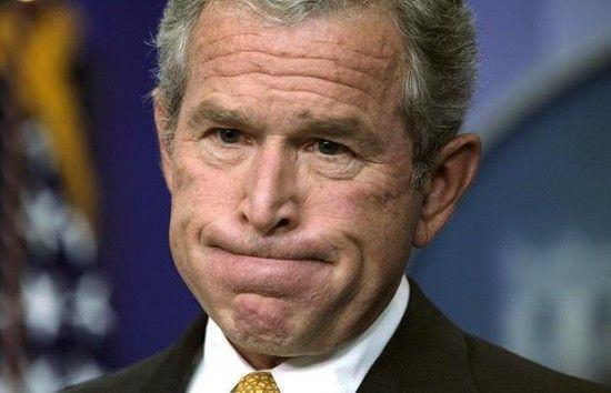 W. Bush Monkey expression Politics, Funny faces