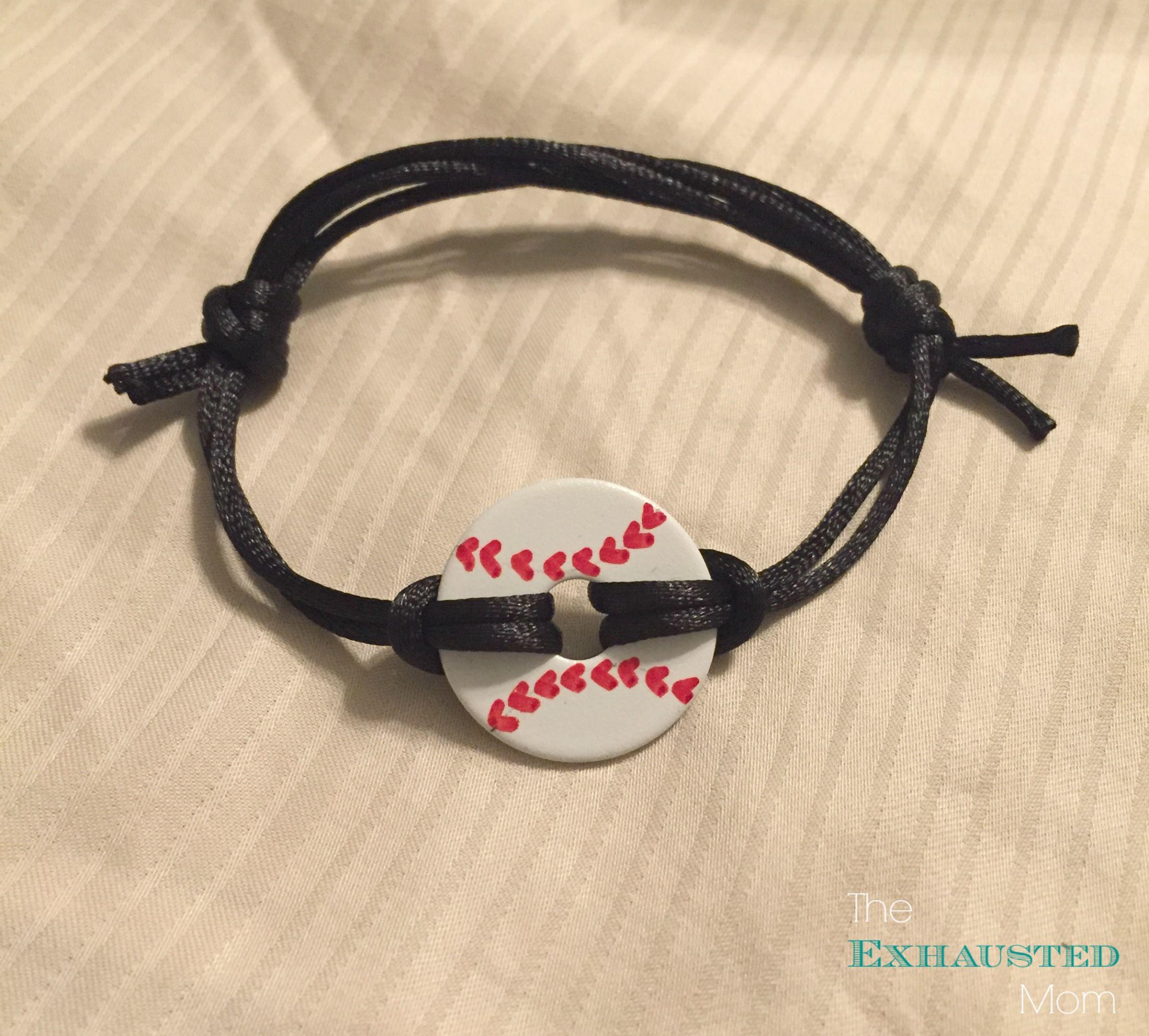 Diy Softball Bracelets Diy Baseball Washer Necklaces
