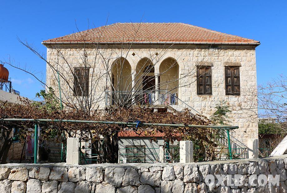 Beautiful Old House In Hamat Lebanon Tourism Mountain Homes Lebanon