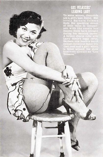 Former Chorus Girl Barbara Velasco - Jet Magazine July 21,… | Flickr