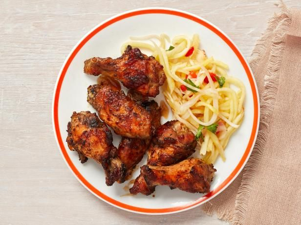 Hickory Smoked Jerk Chicken Wings With Pickled Pineapple Recipe