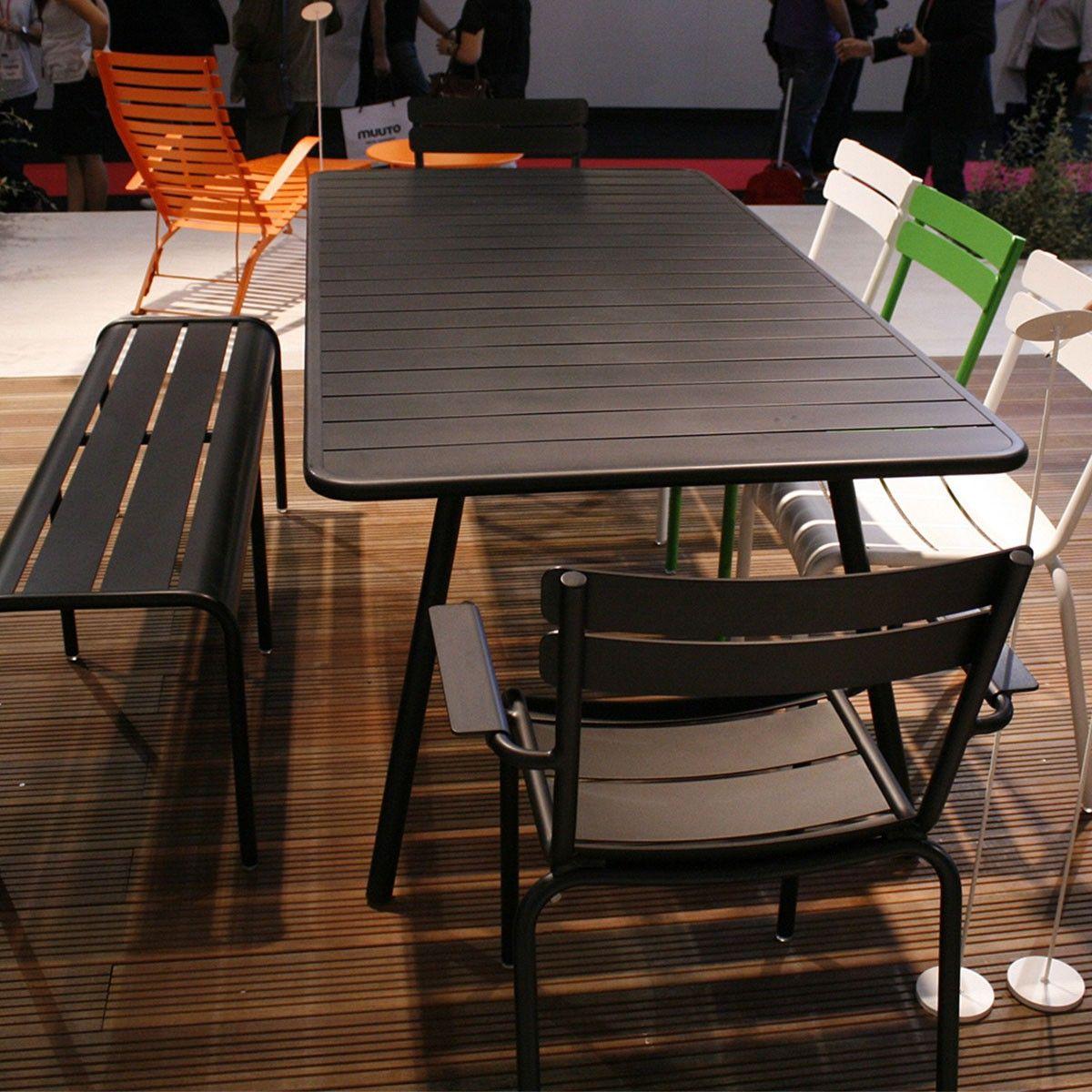 Table Luxembourg 207 X100 Cm Fermob Voltex Chaise D Exterieur Mobilier Design Mobilier