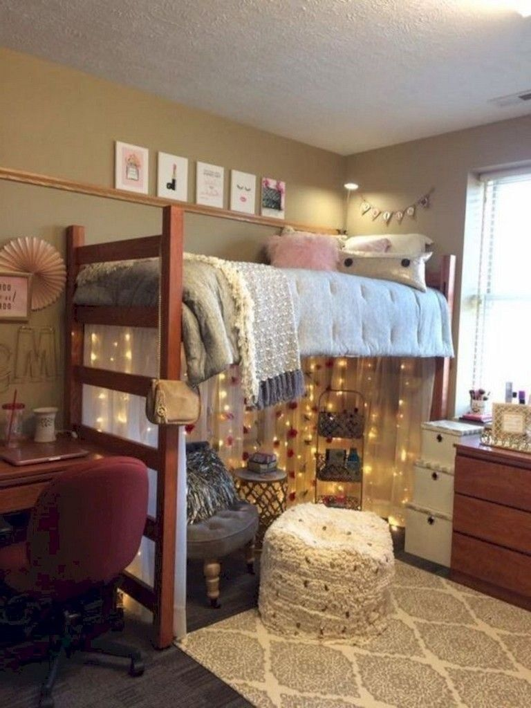 33 Elegant Diy Projects For Your Dorm Room Design Dorm Room Pictures Dorm Room Designs Dorm Room Diy