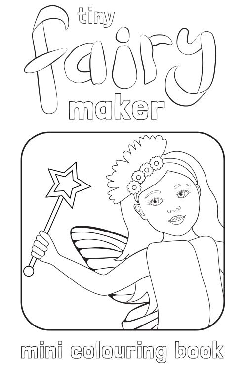 Download your FREE Mini Colouring Book Printable. Make your own ...