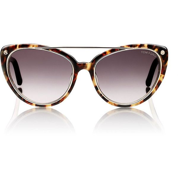b6f7ac21e0 Tom Ford Women s Edita Sunglasses (5.417.280 IDR) ❤ liked on Polyvore  featuring accessories