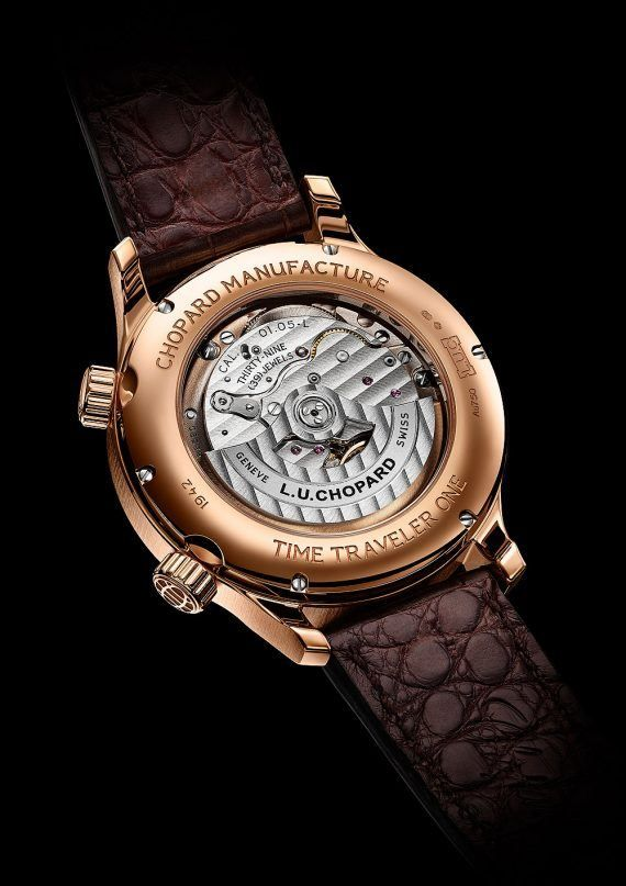 Gentleman Travelers: Chopard's New L.U.C GMT One and Time ...