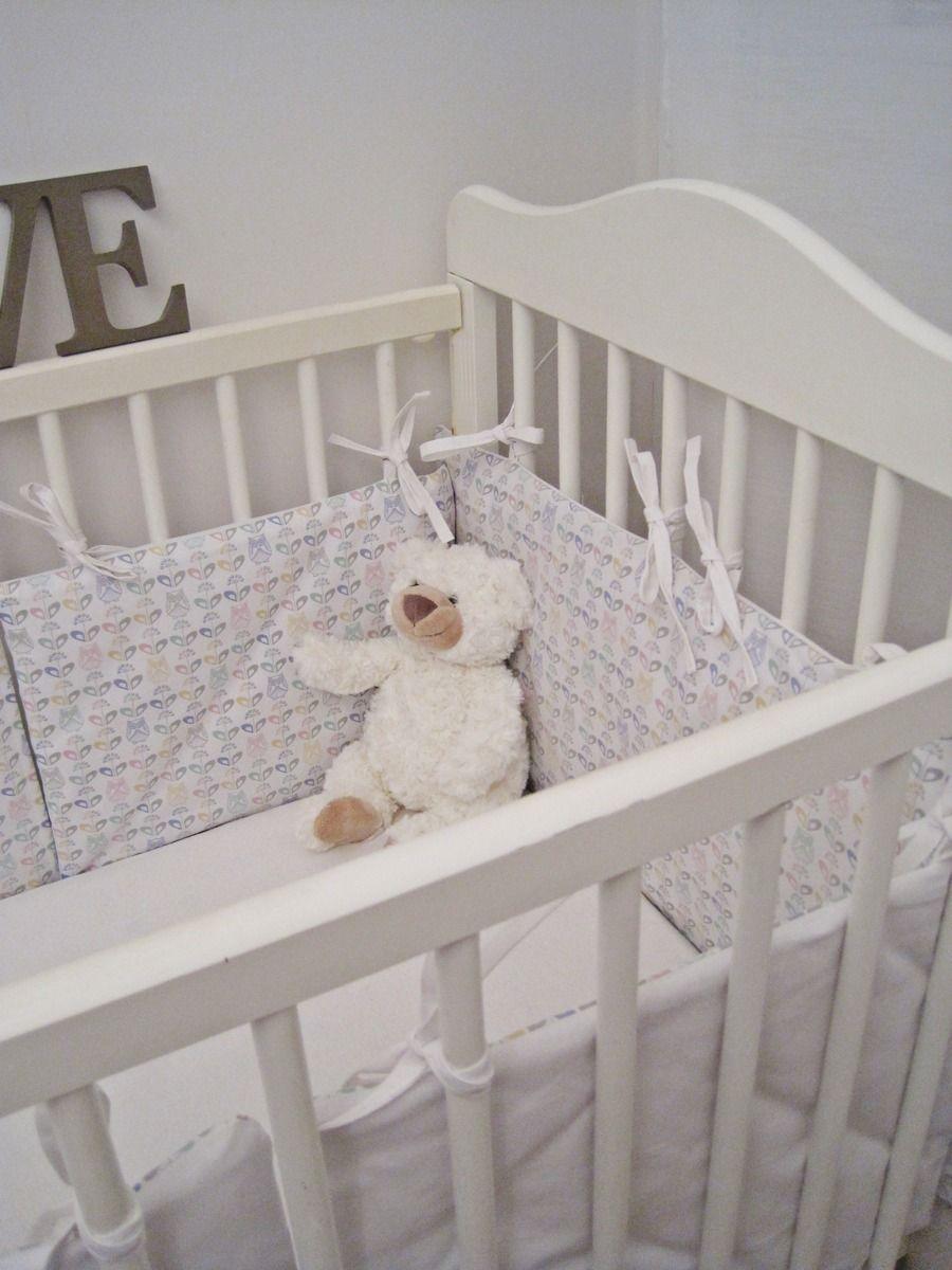 D03 - Habillage pour couffin ou berceau, tour de lit bébé 5 panneaux ...