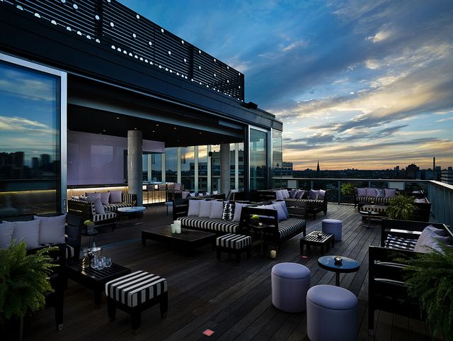 Thompson Toronto Rooftop Lounge Exterior Patio De