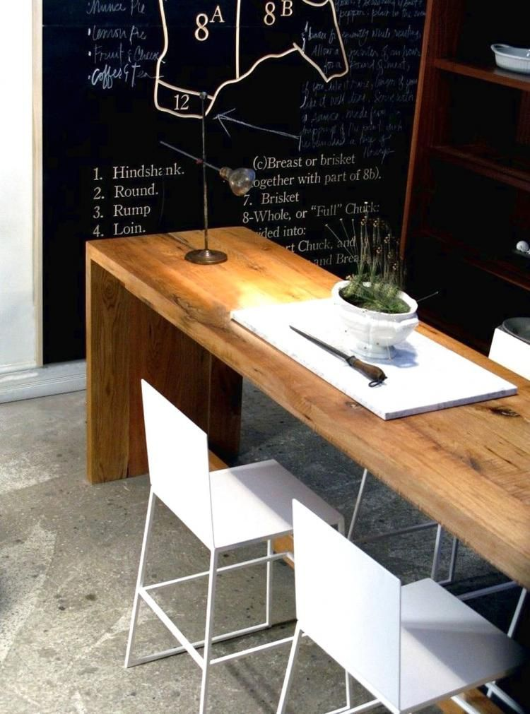 Pin On Narrow Dining Tables