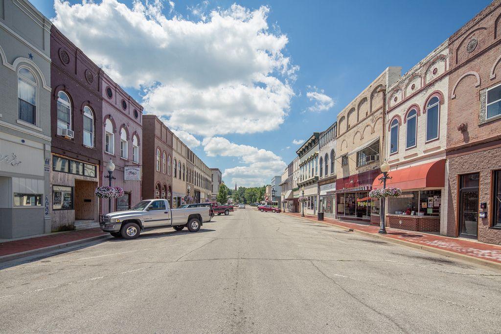 Historic commercial district - Edinburgh, Johnson County ...