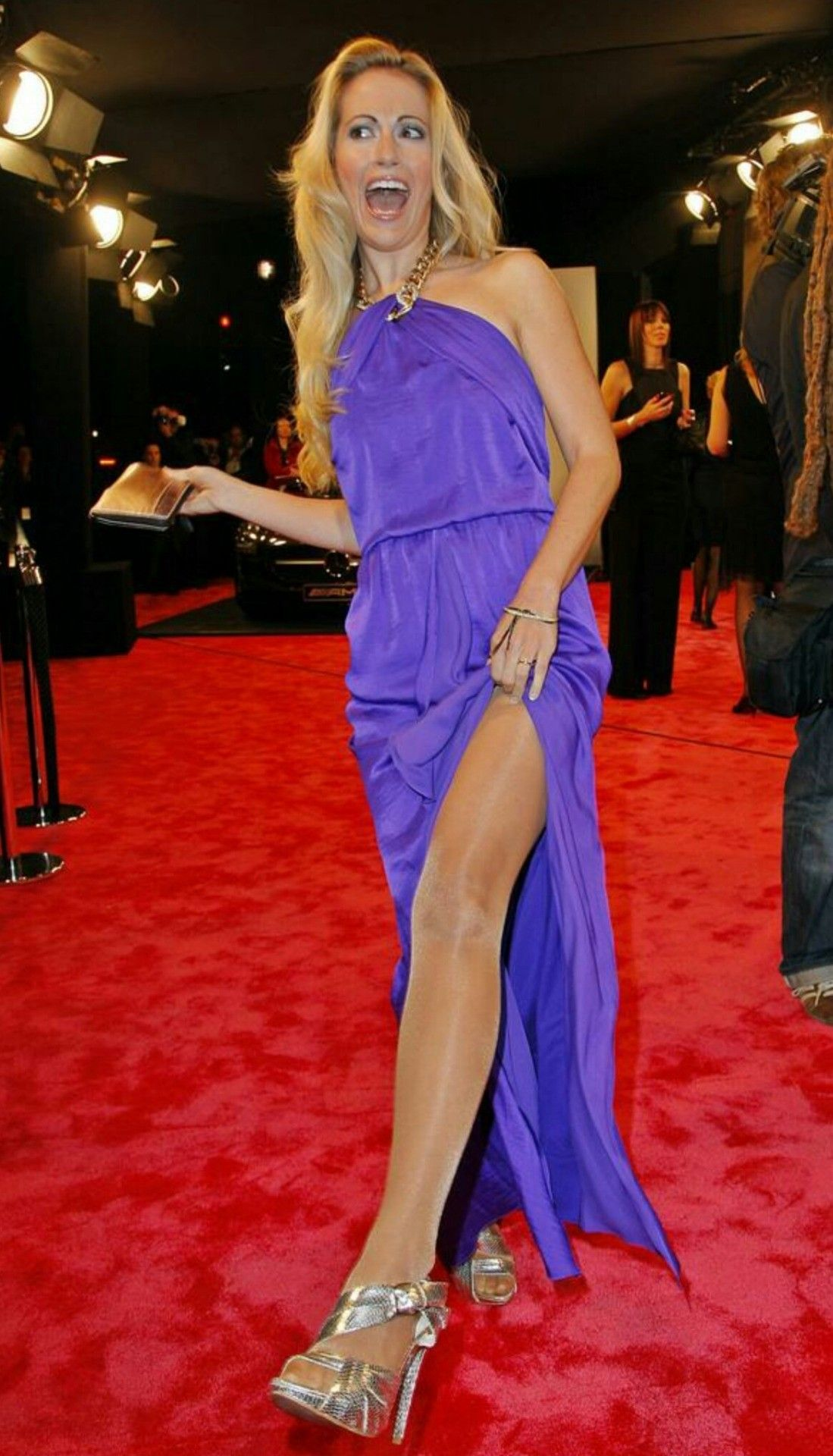 Will not celebs wearing pantyhose sorry