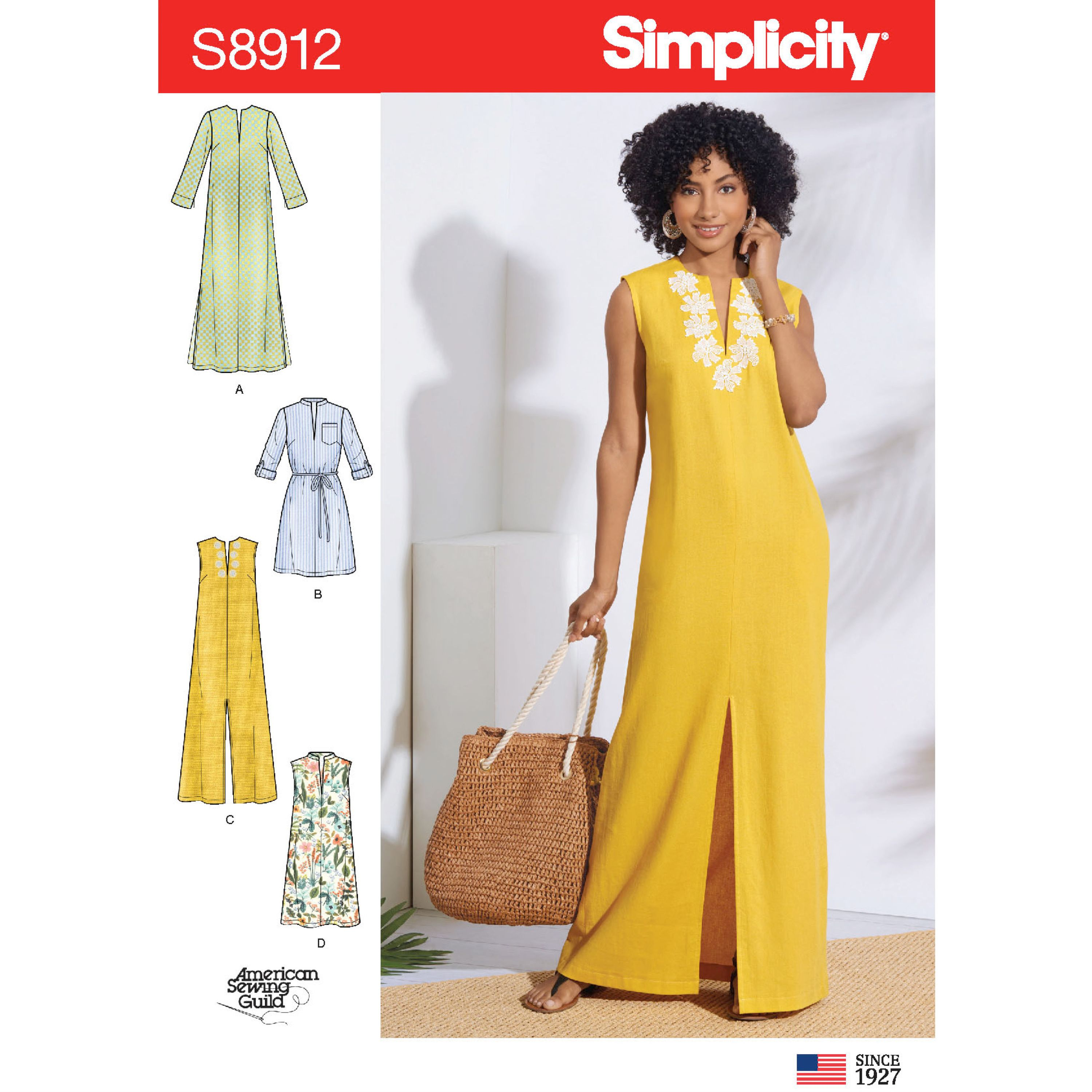 Simplicity Sewing Pattern S8912 Misses Dresses