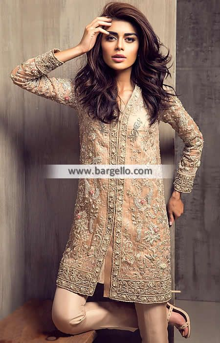 82c9ba09f90 Majestic Designer Party Dress for Wedding and Evening Events Elan Dresses  Iselin New Jersey NJ US Elan by Khadijah Shah Women   Dresses   Party Wear    Wear ...