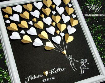 Photo of Ideas para el libro de visitas de la boda – Árbol de bodas de plata y púrpura – Alternativa al libro de visitas de la boda al libro de visitas tradicional