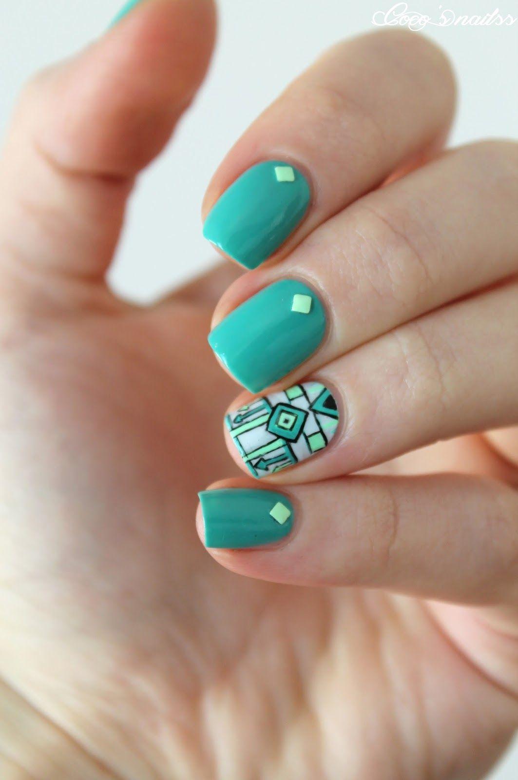 La magie de l\'accent nail | Uñas lindas, Diseños de uñas y Uña decoradas