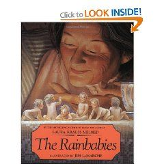 One of Lainey's favorites.  So imaginative and Jim LaMarche's illustrations are so life like and full of light.  The little clothes these babies wear are enough reason to get your hands on this book.
