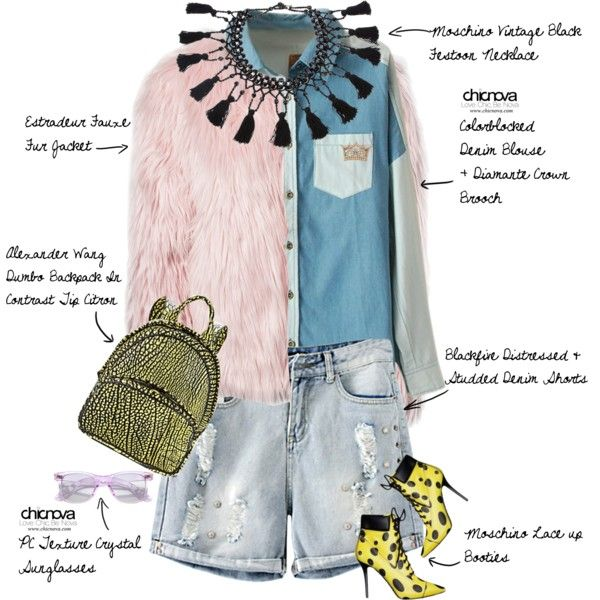 """Canadian Tuxedo Sponge Bob Style"" by fashionscribbles on Polyvore"