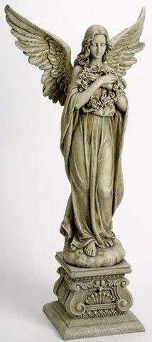 48 Tall Guardian Angel Statue Garden Home Chapel Gravesite