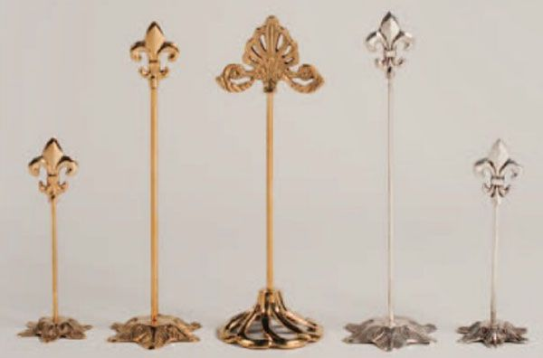 For Your Banquet Tables These Victorian Design Fl Gold Br 13 Inch Table Number Holder Will Add Elegance Wedding Reception Ideas Pinterest
