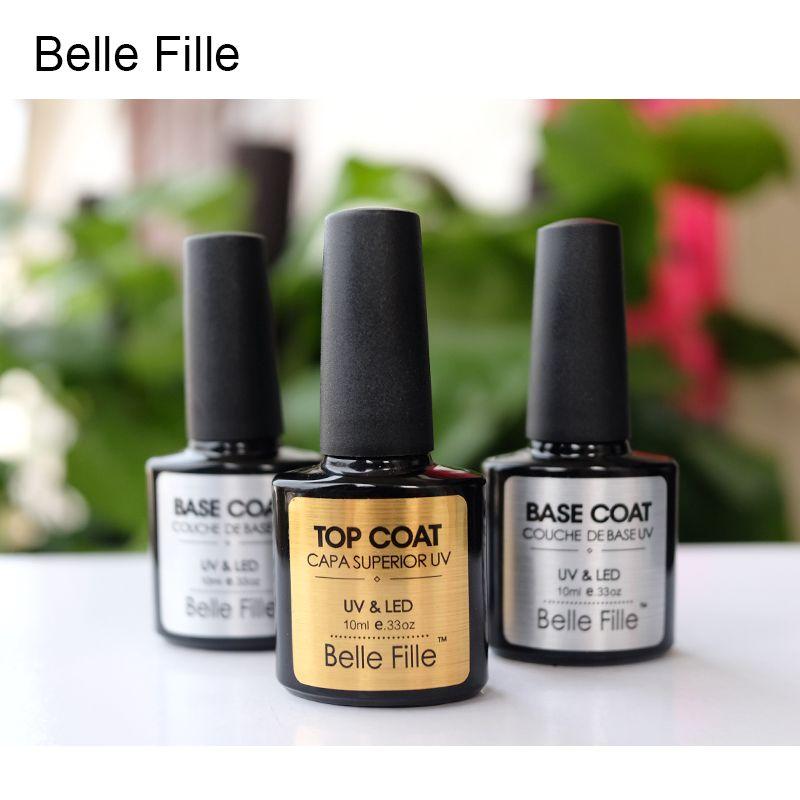 Promo NOBILE Brand Easy Soak Off Gel Nail Polish 7 3ml Base Gel Top ...
