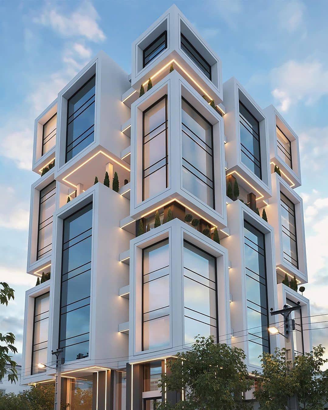 3dmax V Ray Magazine On Instagram Residential Design Architec Residential Building Design Architecture Building Design Residential Architecture Apartment