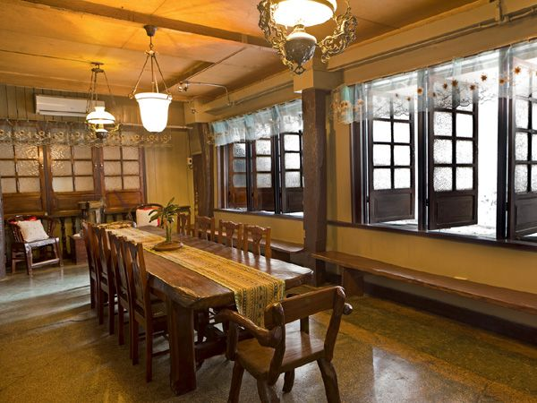 The Dining Room Is Recreated In Traditional Mode Even As Philippine