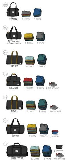415917546e2 Herschel Supply Duffle Size Guide Have you checked out these awesome duffel  bags