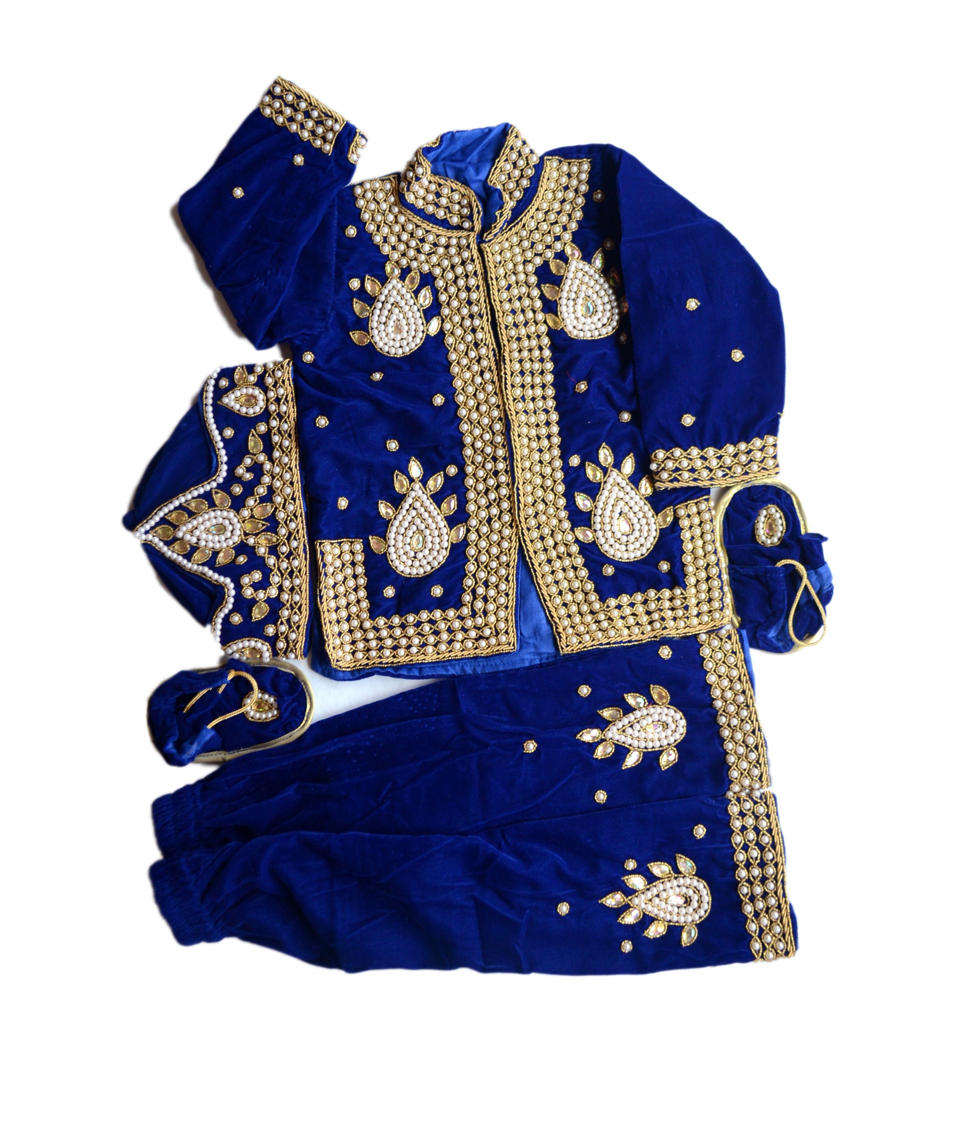 Royal Blue Pasni Set Pasni Dress Nepali Handicrafts In United