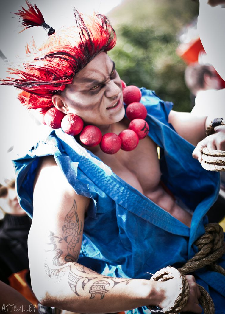 Akuma From Street Fighter Cosplay Street Fighter Cosplay Cute