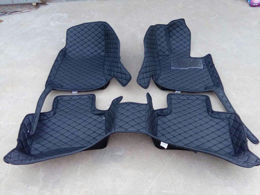 Custom Special Car Floor Mats For Right Hand Drive Bmw 7 Series G12 740li 750li 760li 2017 2016 Waterproo Kozhanye Botilony Dizajn Salona Avtomobilya Avtomobil