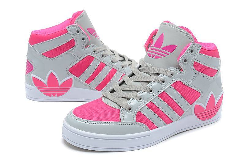 Wholesale Adidas 2014 IV Forth Women Pink Gray Running Shoes