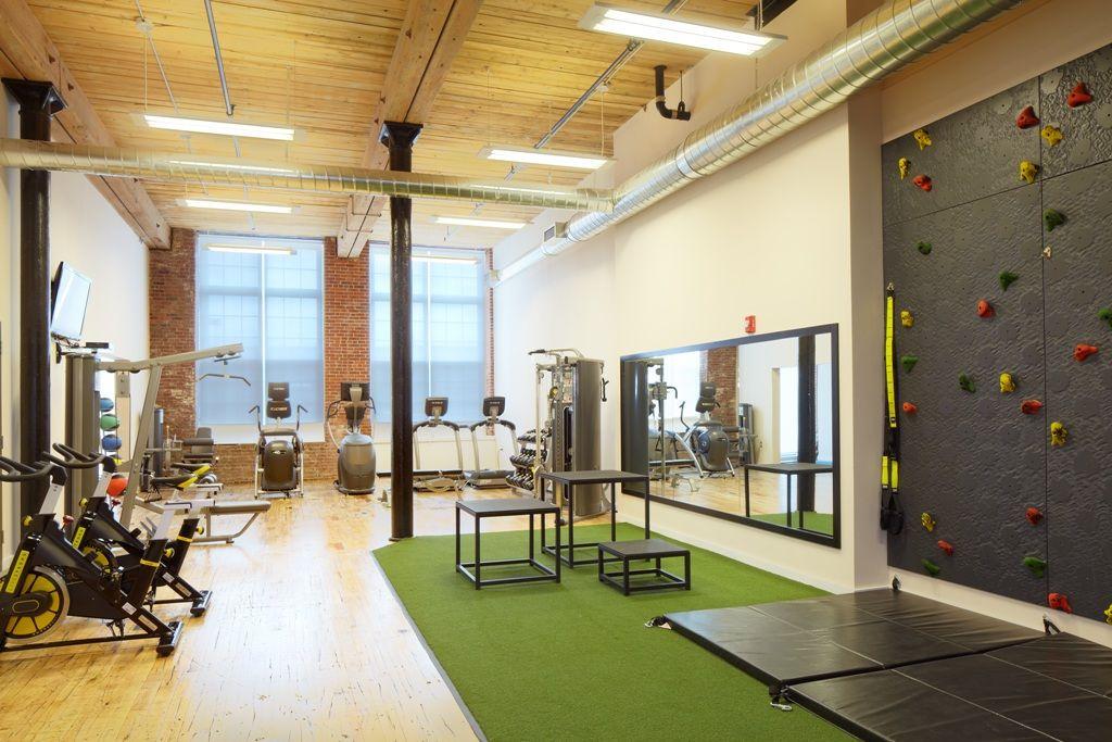 Fitness Center Gym Interior Gym Room Small Home Gyms