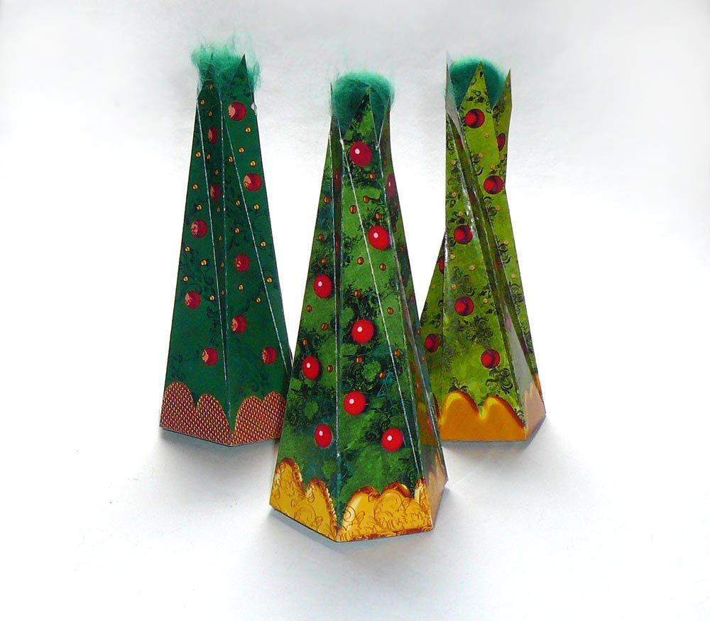 Diy Printable Gift Box Christmas Tree Shape Holiday Give Away Favor Box Crafting Packaging 3 Pdf Sheets Diy Gift Box Diy Christmas Tree Diy Christmas Box