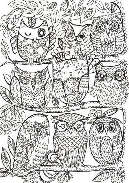 Hi Good People Everyone Has A Fascination On Drawing And Coloring And Even Kids Love To Color In Man Owl Coloring Pages Coloring Pages Animal Coloring Pages