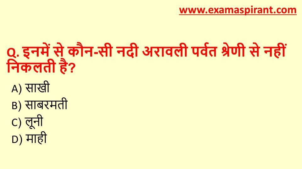 SSC Geography Question With Answer In Hindi For 2018, CGL ...