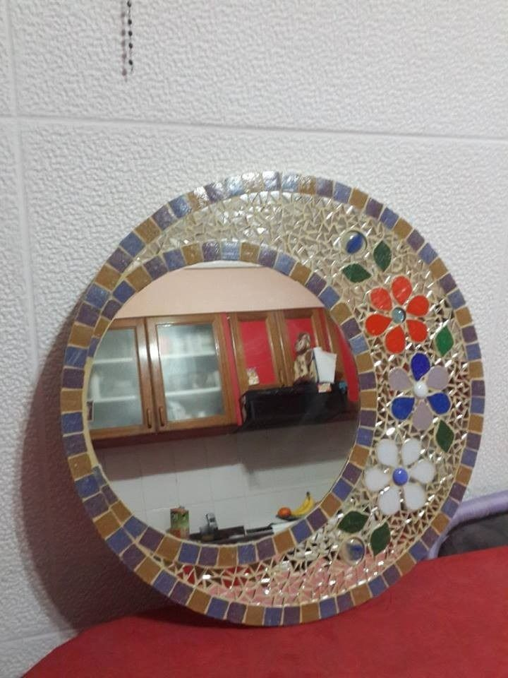 Resultado de imagen para espejos con mosaicos mozaico for Mosaicos para espejos