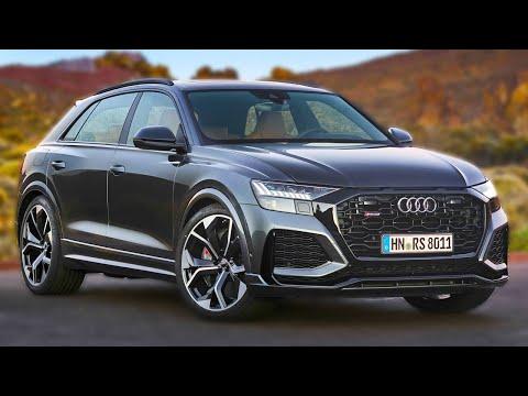 2020 Audi Rs Q8 Daytona Grey Introduce Youtube In 2020 Audi Rs Audi Daytona