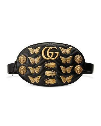1428570d9422 D2YWX Gucci Matelassé Insects Lion Belt Bag | GUCCI Bags | Bags ...